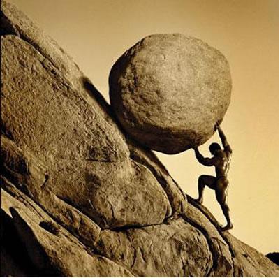 Você esta tirando, ou carregando esta pedra?